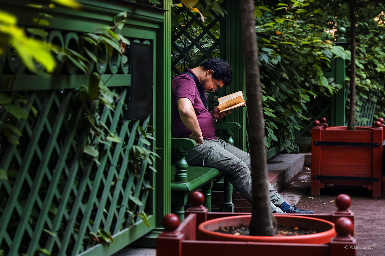 summer-garden-saint-petersburg-book-man