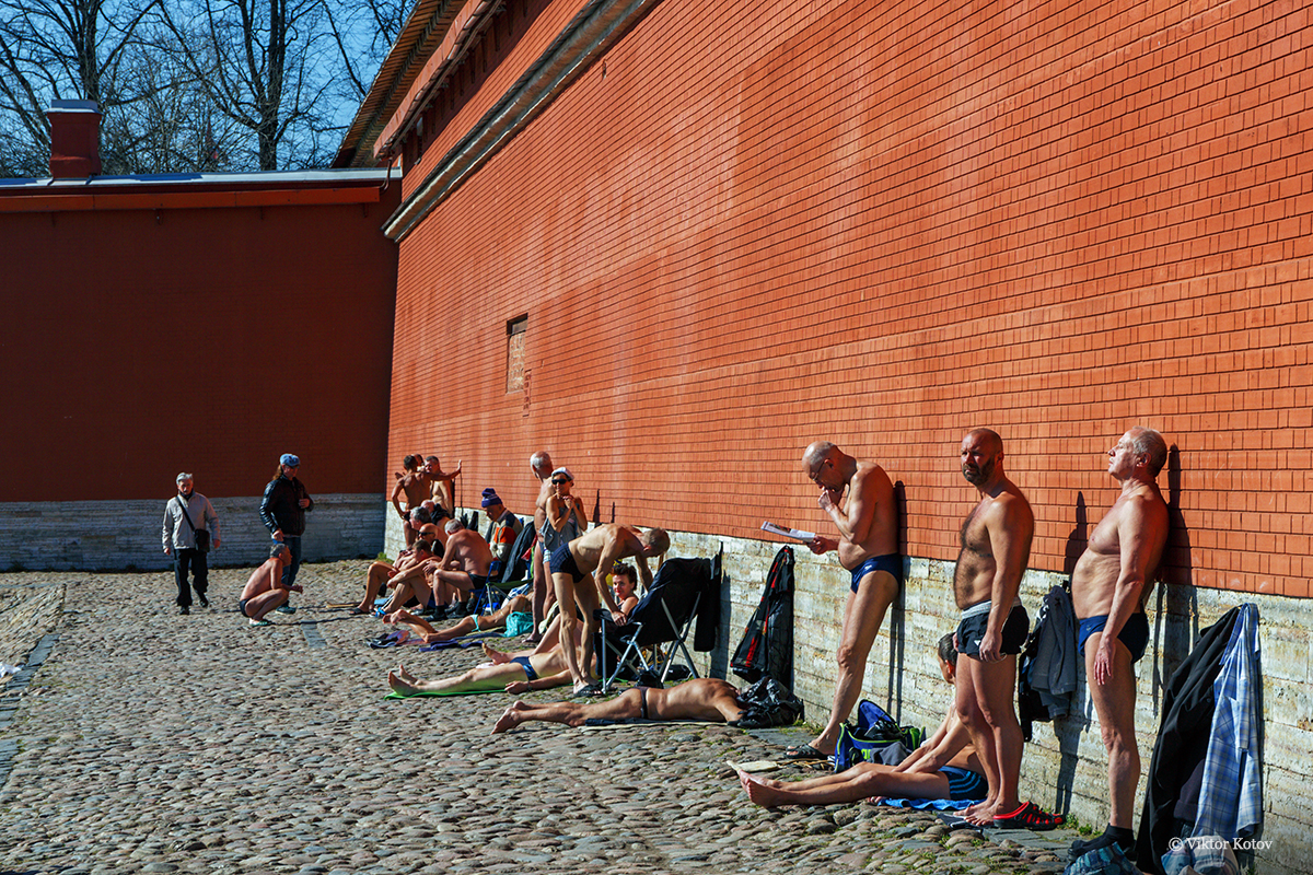sunbather-peter-paul-fortress-spring1