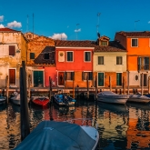 murano-sunset-brightly-colored-houses